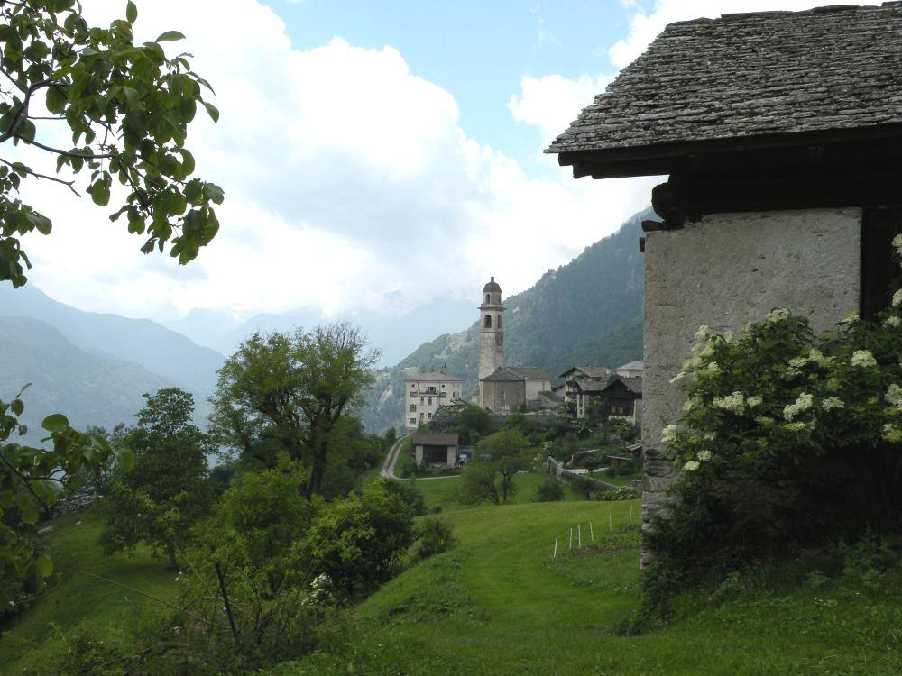 Landsbyen Soglio