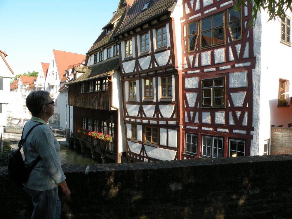 Aase i Fiskerkvarteret i Ulm
