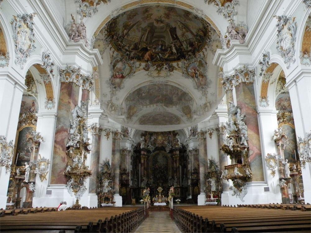 Klosterkirken i Ottobeuren