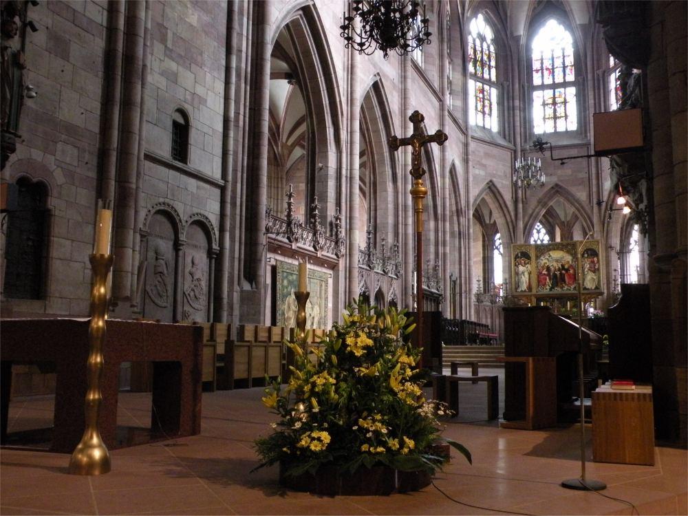 Domkirken i Freiburg - interiør