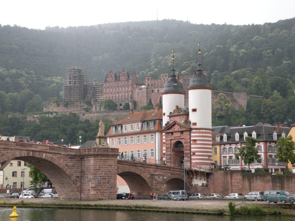 Sejltur på Neckar gennem Heidelberg