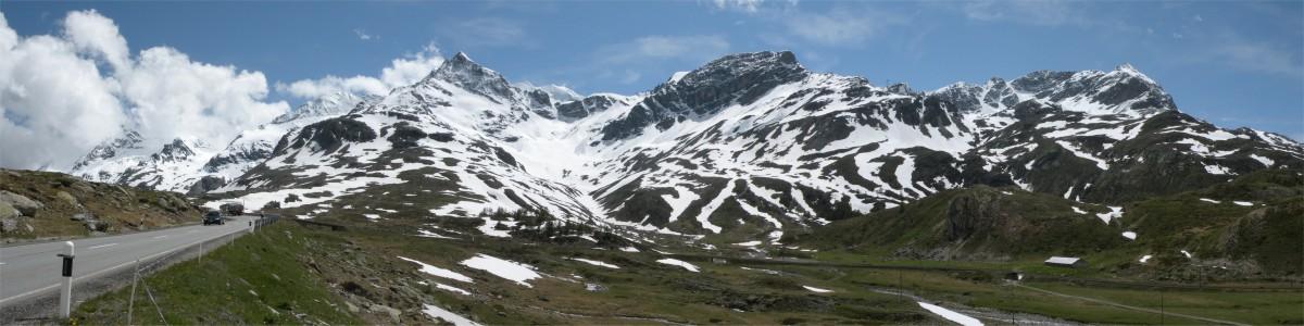 Panorama fra Berninapass