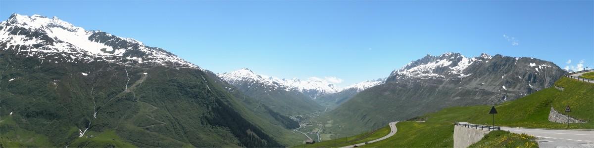 Panorama fra Oberalppass