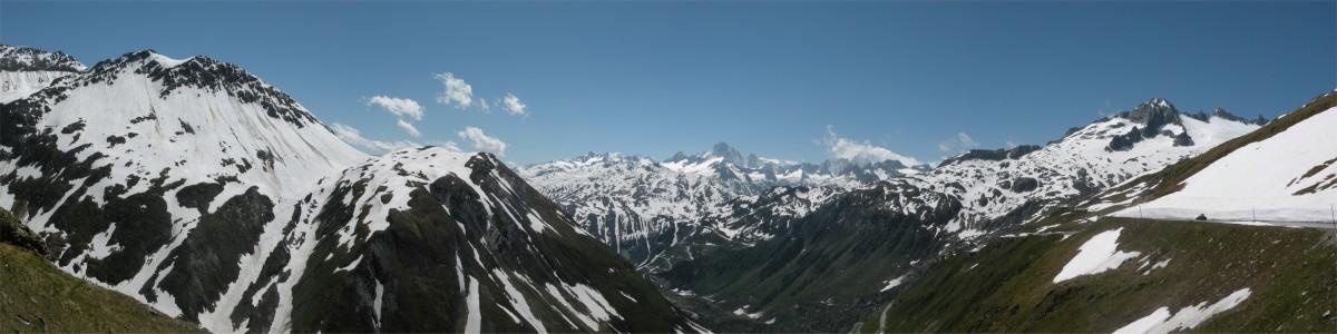Panorama fra Furkapass