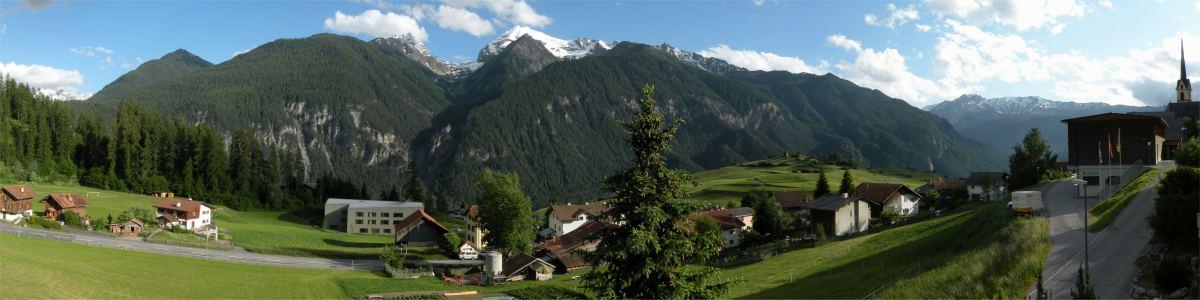 Panorama fra Alvaneu