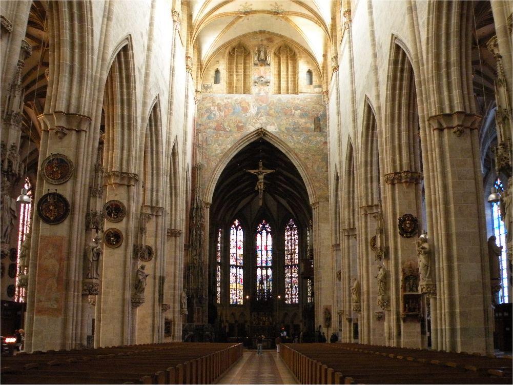 Domkirken i Ulm - interiør