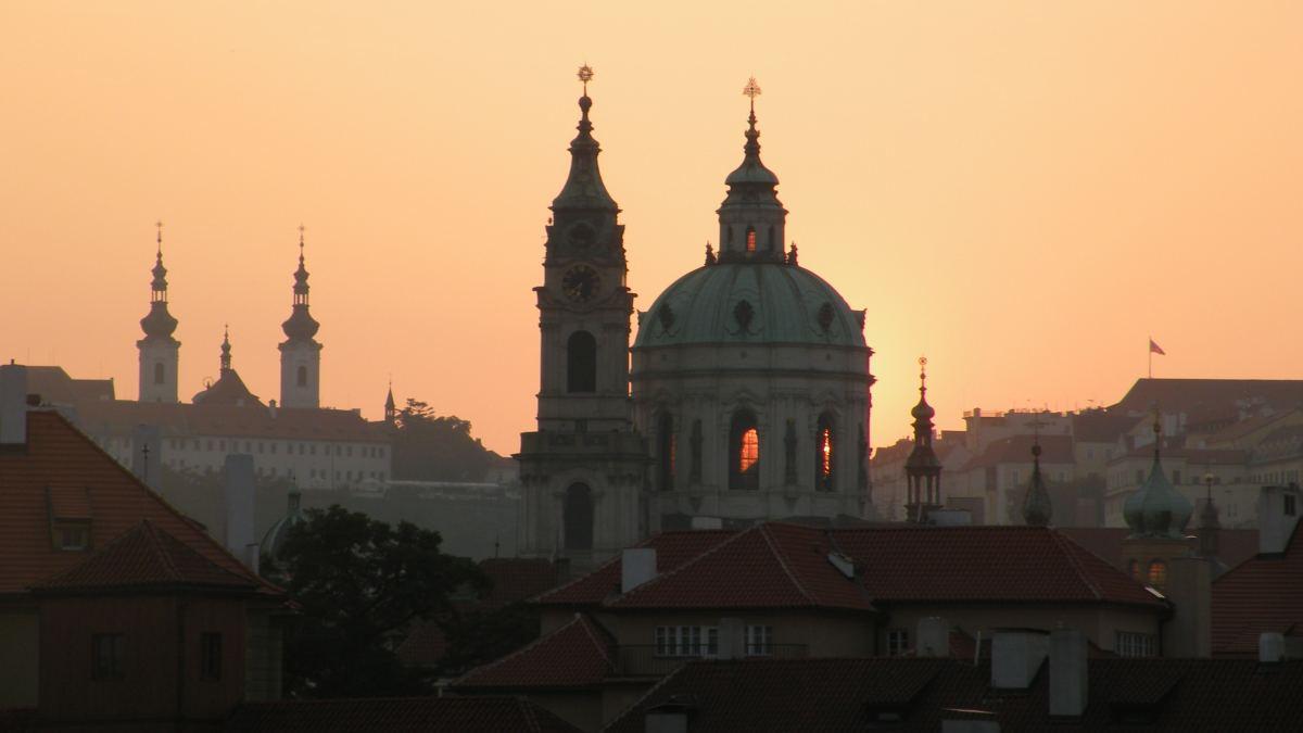 Nikolaikirken på Malá Strana