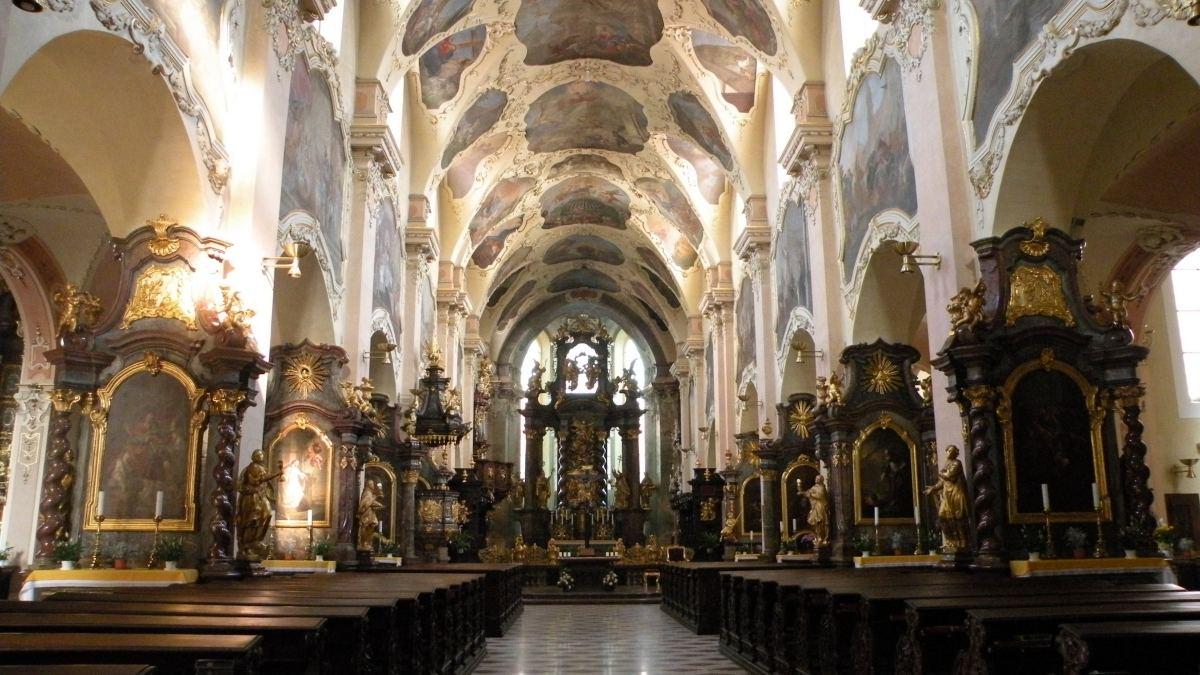Kirken i Strahov Klosteret
