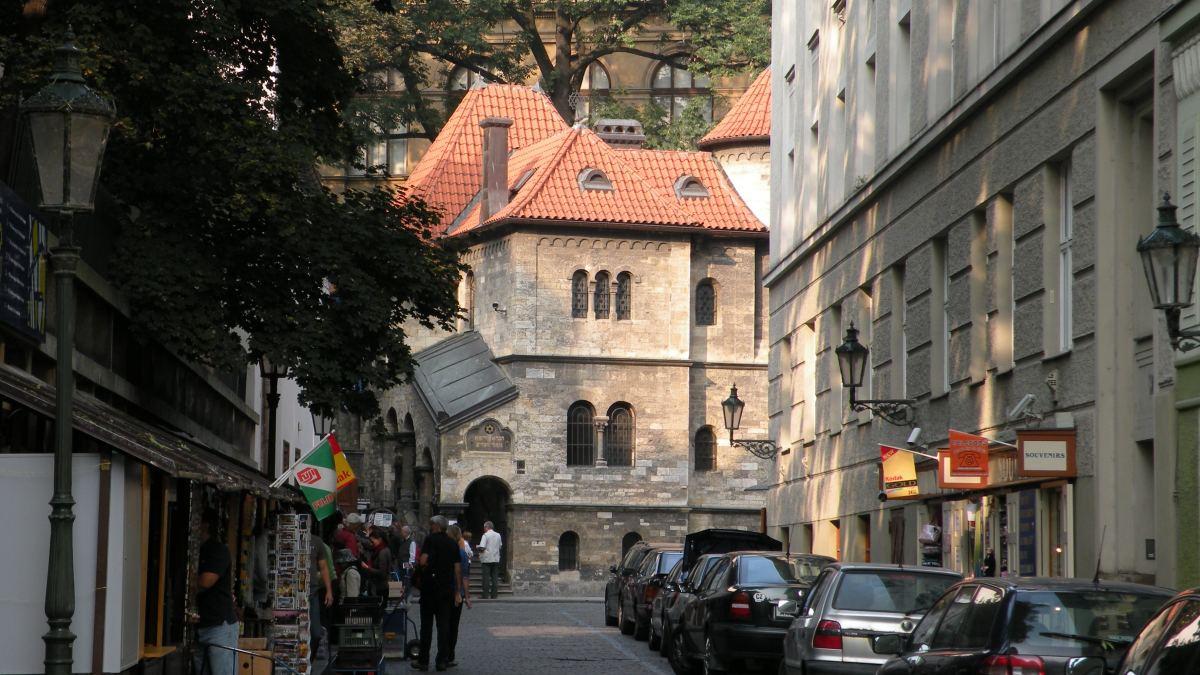 Gade ved CVeremonihuset i Det jødiske Kvarter