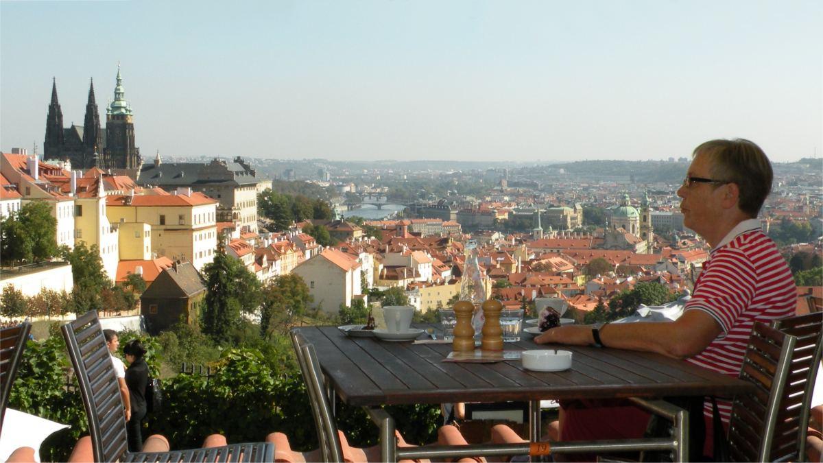 Aase nyder udsigten fra Strahov Klosteret