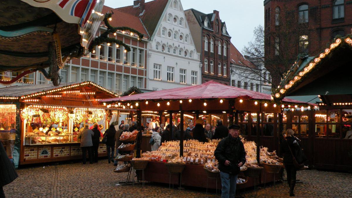 Julemarked i Lüneburg