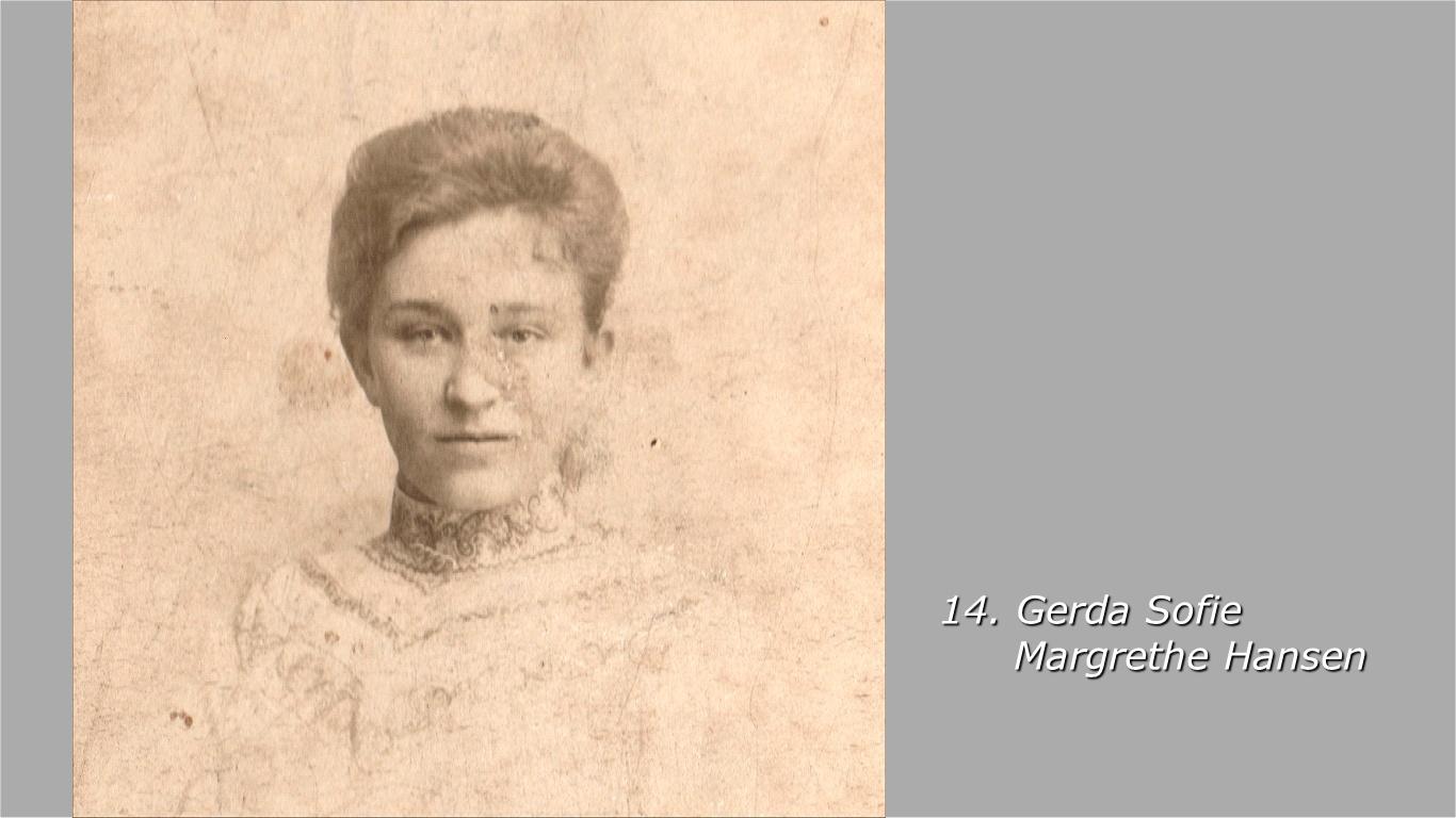 Gerda Sofie Margrethe Hansen