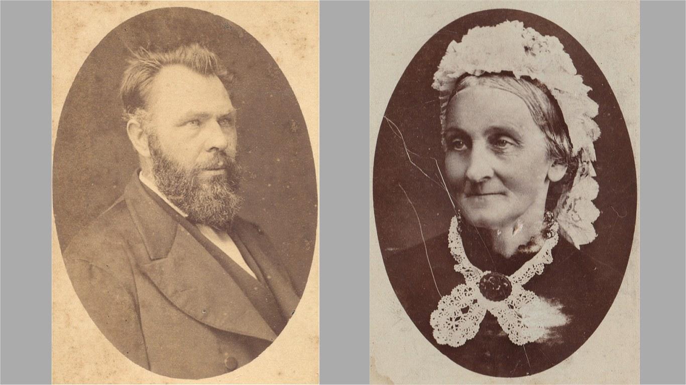Anders Peter og Marie Annette Augusta Hansen