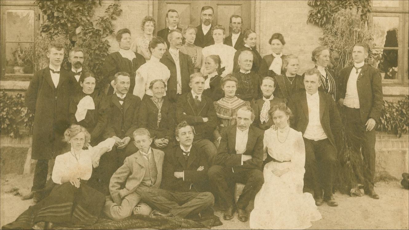 Hansen familien 1908