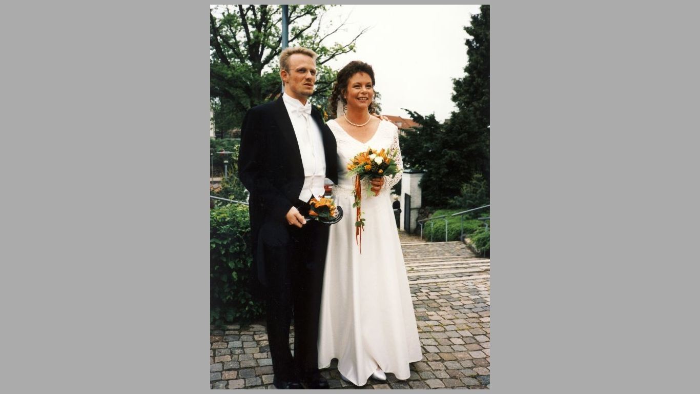 Tina og Klaus's bryllup