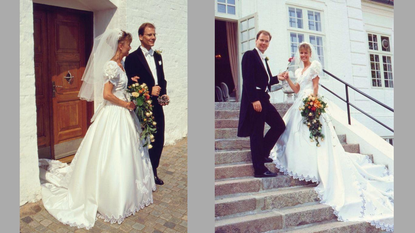 Carsten og Mariannes bryllup 1995