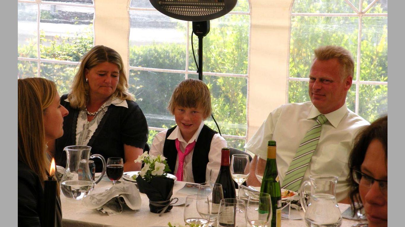 Henriks konfirmation 2009