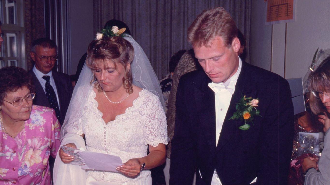 Kent og Gittes bryllup