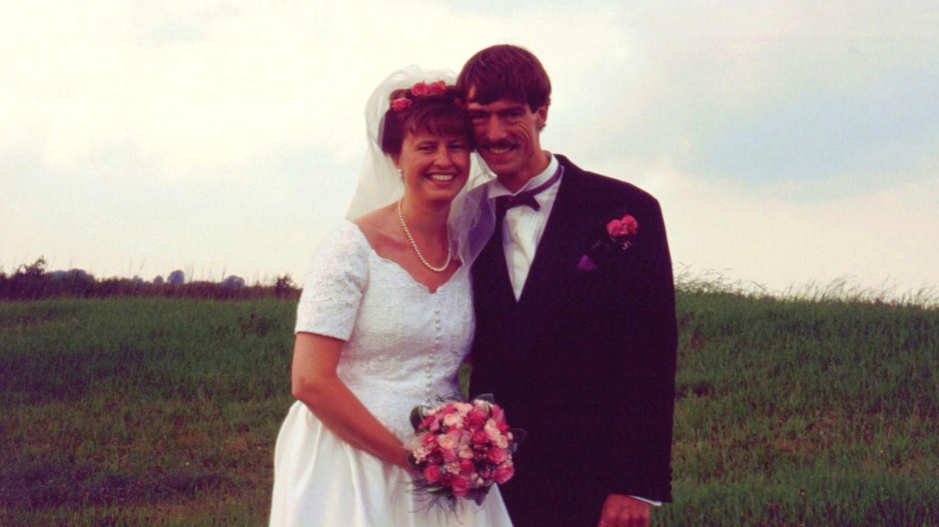 Kim og Janes bryllup 1995