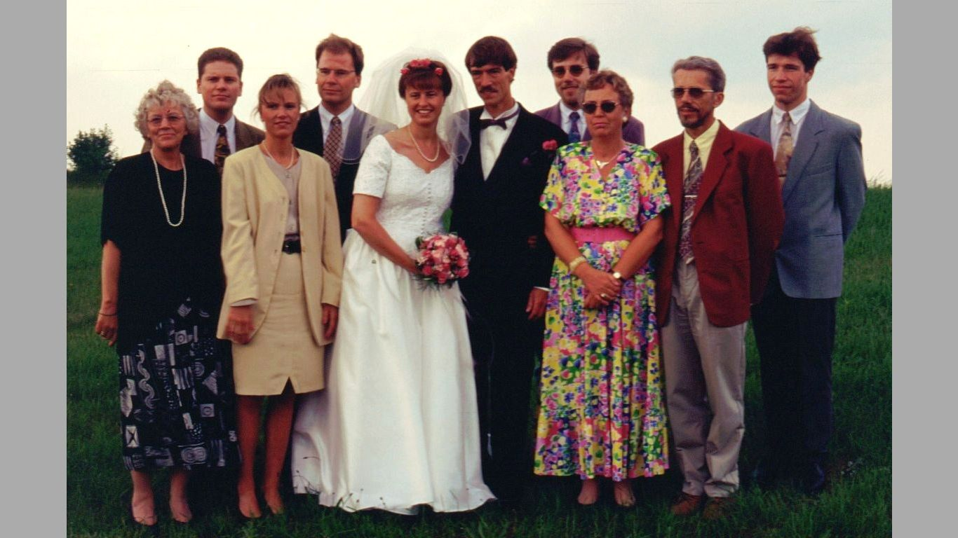 Kim og Janes bryllup gæster