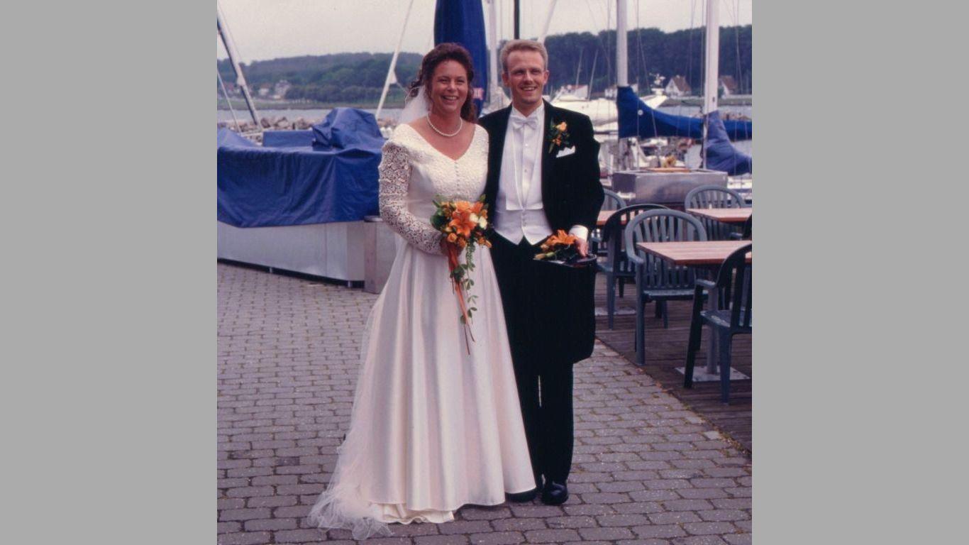 Klaus og Tinas bryllup