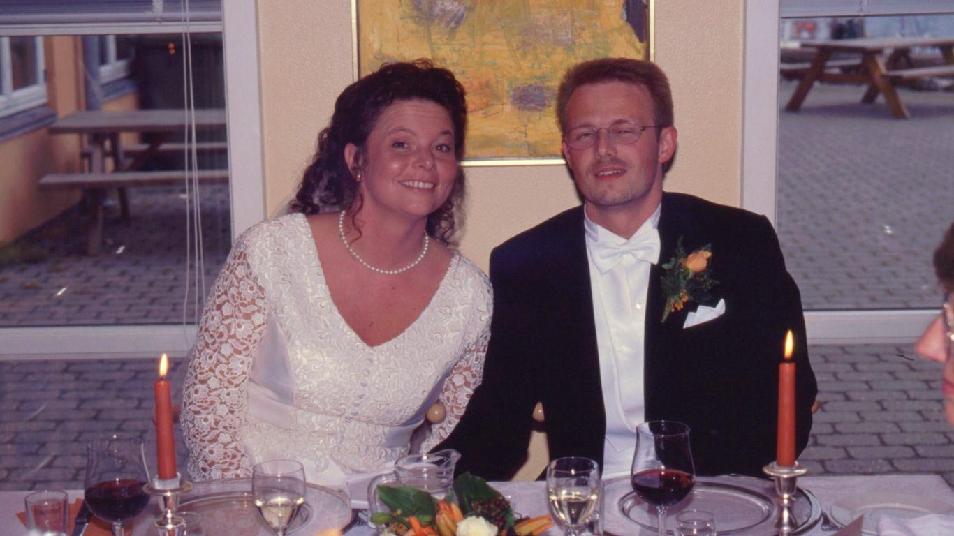 Klaus og Tinas bryllup 1998