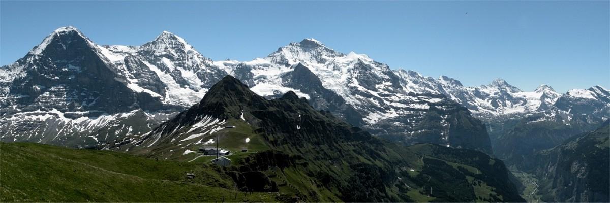 2009 Schweiz Panorama Männlichen