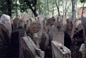 12429 Den jødiske kirkegård Prag