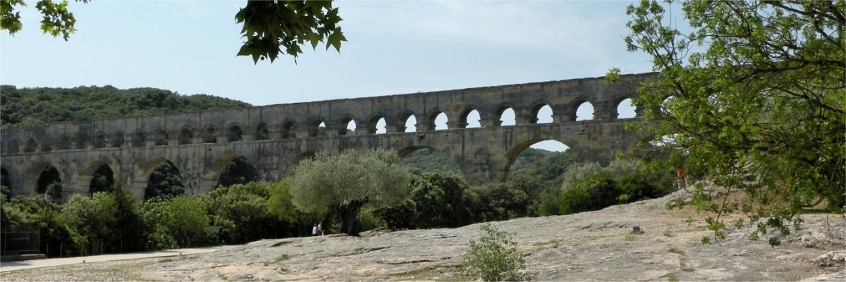 Romersk akvadukt Pont du Gard