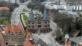 2016 Lübeck 36 Udsigt fra Petrikirken