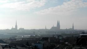 2016 Lübeck 20 Udsigt fra hotellet morgen
