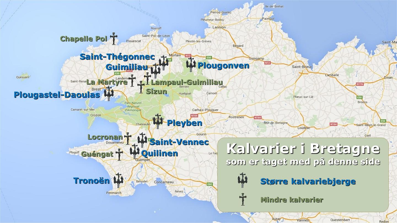 2016 Kirker Og Kalvarier I Bretagne Aase Og Thorkilds Hjemmeside