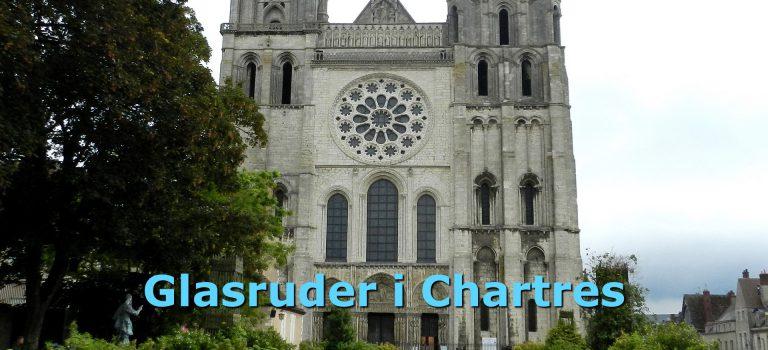 Gennemgang af glasruder i Chartres-katedralen