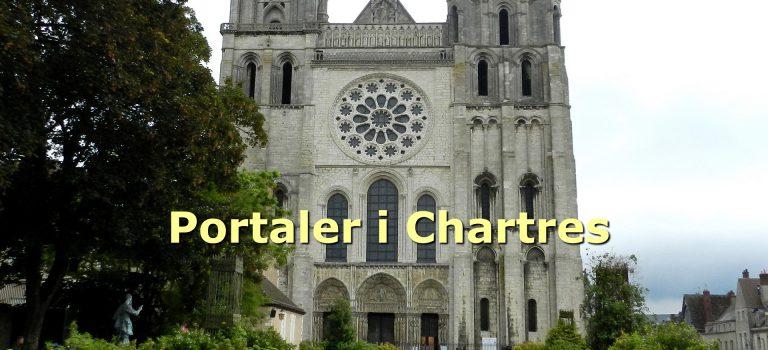 Gennemgang af portalerne i Chartres-katedralen