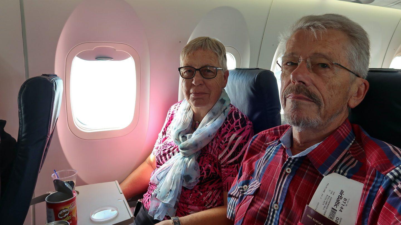 På vej fra Billund til Riga