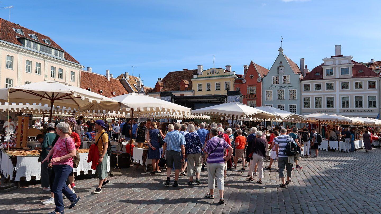 Torvet i Tallinn