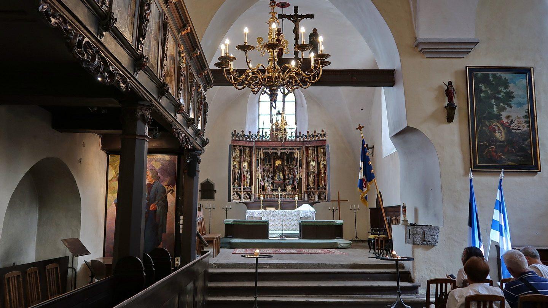 Helligåndskirken med Bernt Notkes altertavle