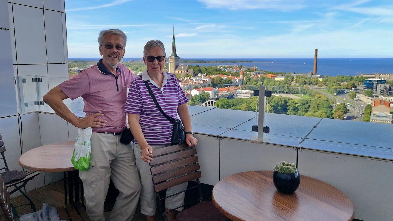 Udsigt fra Hotel Viru over Tallinn