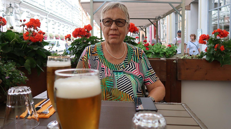 Sidste øl nydes inden hjemrejsen