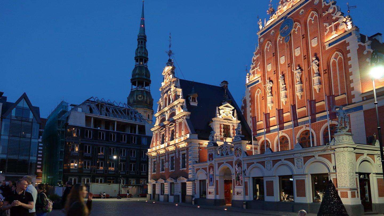 Torvet i Riga