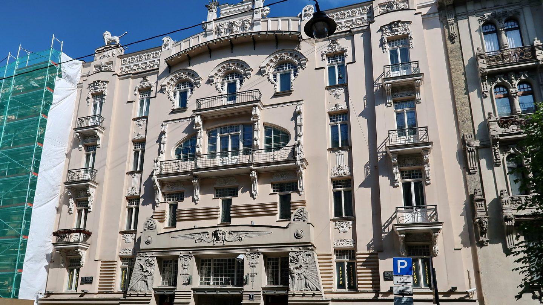 Jugendstilhuse i Riga