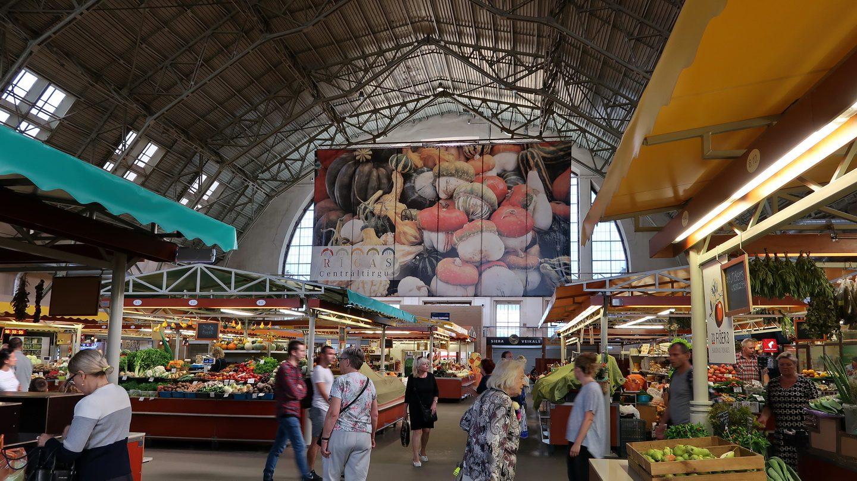 Markedshaller i Riga
