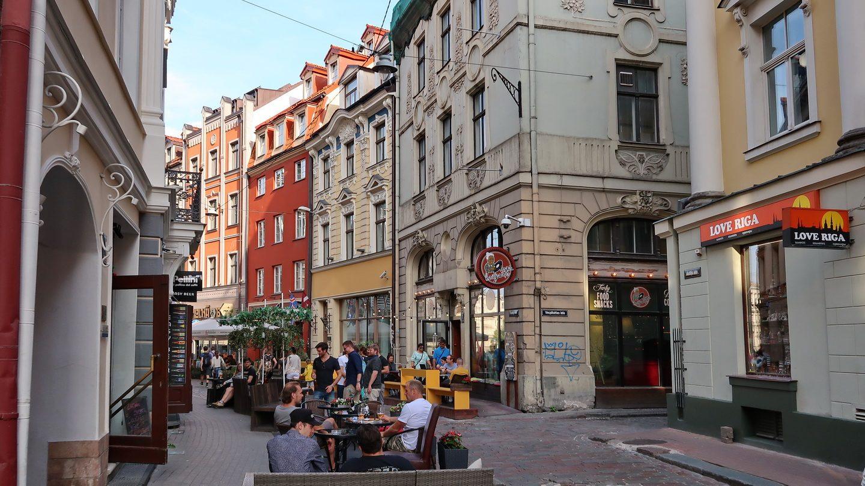 Også Jugendstil i Rigas centrum