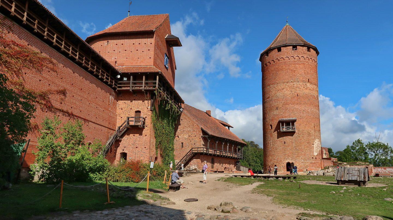 Turaidaborgen uden for Riga