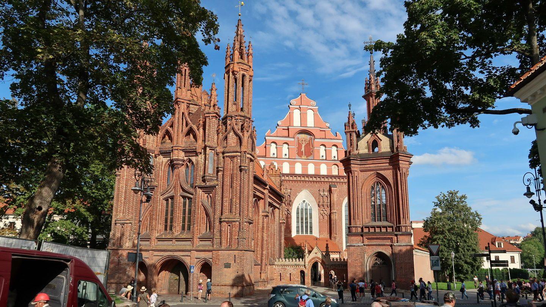 Sankt Anna og Franciskanerkirkerne i Vilnius