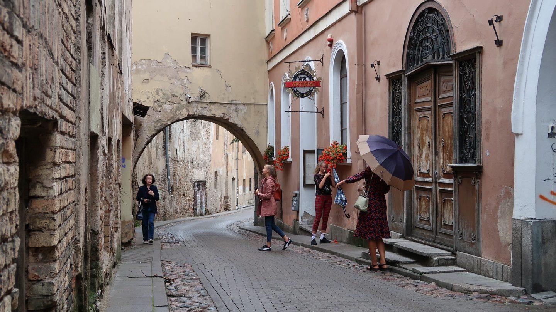 Gamle gader i Vilnius