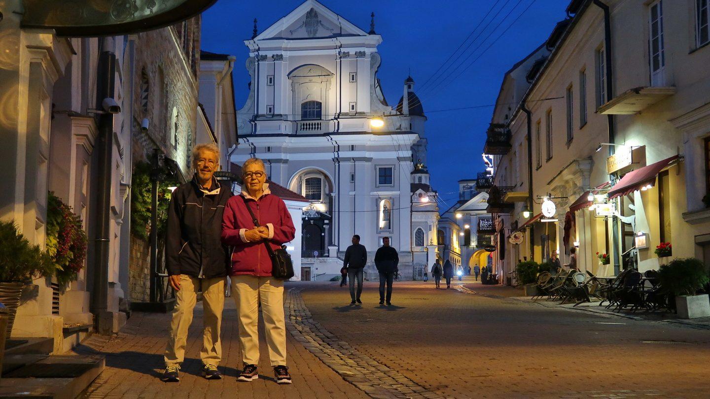 Foran Morgengryets Port i Vilnius