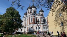 Alexander Nevsky-katedralen i Tallinn set fra øst