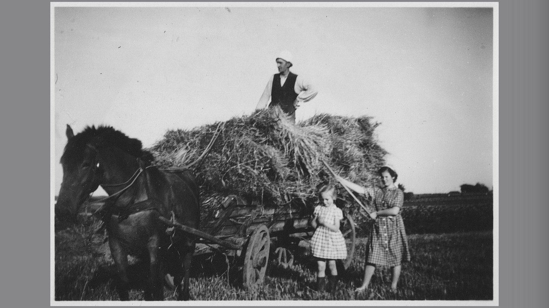 Aase, Maja og deres far