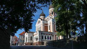 Alexander Nevsky Katedralen på Domhøjen i Tallin.
